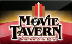 Sell Movie Tavern Gift Card