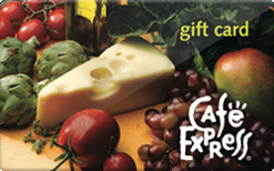 Sell Cafe Express Gift Card
