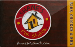 Sell Shane's Rib Shack Gift Card