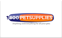 Buy 1800PetSupplies Gift Card