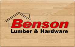 Sell Benson Lumber & Hardware Gift Card