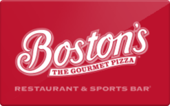 Sell Boston's Restaurant & Sports Bar Gift Card