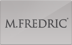 Sell M.Fredric Gift Card