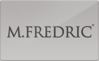 Buy M.Fredric Gift Card