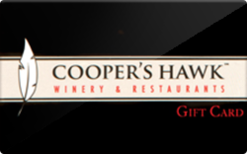 Buy Cooper's Hawk Winery & Restaurants Gift Card