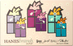 Buy HanesBrands Outlet Gift Card