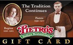 Sell Pietro's Italian Restaurant Gift Card