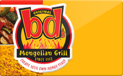 Sell bd's Mongolian Grill Gift Card