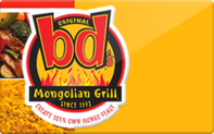 Buy bd's Mongolian Grill Gift Card