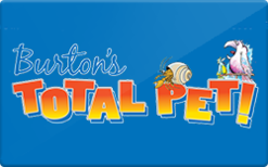 Sell Burton's Total Pet Gift Card