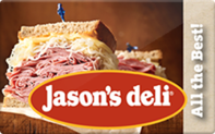 Buy Jason's Deli Gift Card
