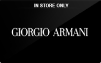 Buy Giorgio Armani (In Store Only) Gift Card