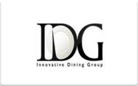 Buy Innovative Dining Group Gift Card