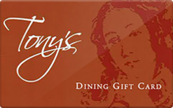 Sell Tony's Houston Gift Card