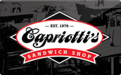 Sell Capriotti's Gift Card