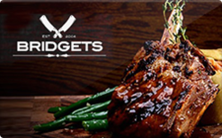 Sell Bridget's Steakhouse Gift Card