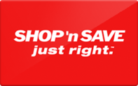 Buy SHOP 'n SAVE (East Coast) Gift Card