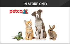 Buy Petco (In Store Only) Gift Cards | Raise