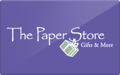 Sell The Paper Store Gift Card