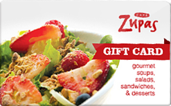 Buy Cafe Zupas Gift Card