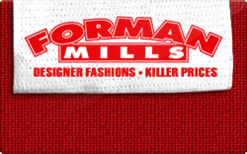 Sell Forman Mills Gift Card