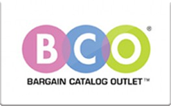 Sell Bargain Catalog Outlet Gift Card
