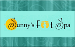 Sell Sunny's Foot Spa Gift Card