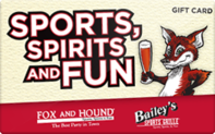 Buy Fox and Hound Gift Card
