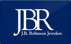 Sell J.B. Robinson Jewelers Gift Card