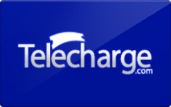 Sell Telecharge.com Gift Card
