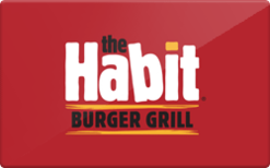 Sell The Habit Burger Grill Gift Card