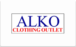 Sell Alko Clothing Outlet Gift Card