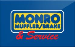 Sell Monro Muffler Gift Card