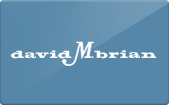 Sell David M. Brian Gift Card