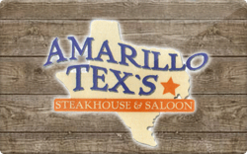 Sell Amarillo Tex's Steakhouse & Saloon Gift Card