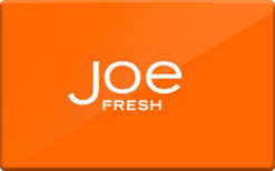 Buy Joe Fresh Gift Card