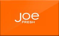 Buy Joe Fresh Gift Card