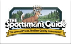 Sell The Sportsman's Guide Gift Card