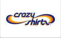 Buy CrazyShirts.com Gift Card