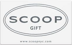 Sell Scoop NYC Gift Cards | Raise