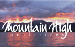 Sell Mountain High Outfitters Gift Card
