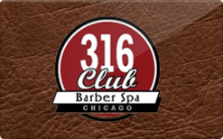 Sell 316 Barber Spa Gift Card