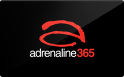 Sell Adrenaline365 Gift Card