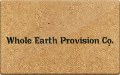 Sell Whole Earth Provision Co. Gift Card