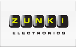 Sell Zunki Electronics Gift Card