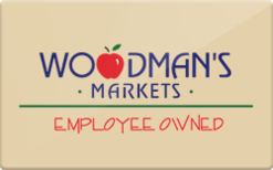 Sell Woodman's Foods Gift Card