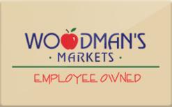 Buy Woodman's Foods Gift Card