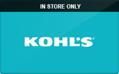 Buy Kohl's (In Store Only) Gift Card