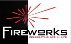 Sell Fireworks Gallery Gift Card