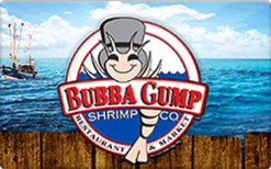 Buy Bubba Gump Gift Card